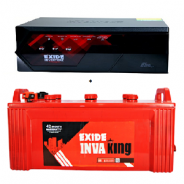 Exide Magic 625Va Inverter + Exide Ikst1500 150Ah Tubular Battery