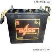 Exide Boss BTT1500 150Ah Tall Tubular Inverter Battery