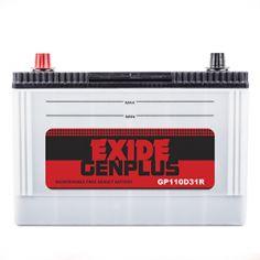 Exide Gen Plus GP110D31R Battery