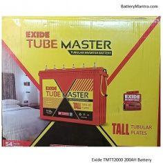 Exide Tube Master TMTT2000 200AH Tall Tubular Inverter Battery